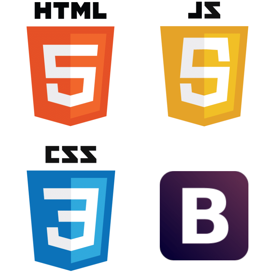 HTML5 CSS3 Bootstrap JavaScript